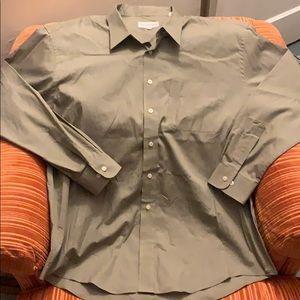 Yves Saint Laurent pocket dress shirt